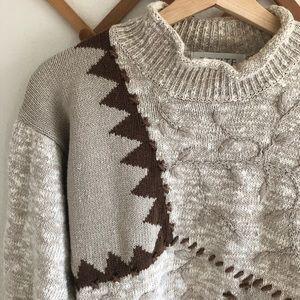 Vintage Mock Neck Sweater